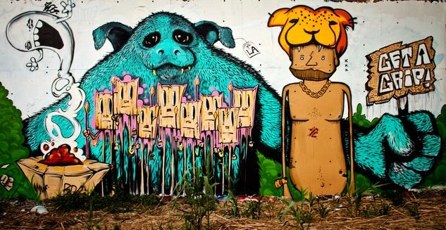 austin photo set: justin graffiti