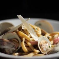 Cipollina Austin Italian restaurantpasta  Linguini con Vongole.