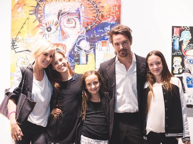 Pop Austin International Art Show 2016 Martie Maguire Gareth Maguire family