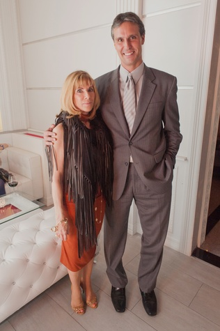 127 Rae Fairfield and Aymeric Martinoia at the Stages Repertory Theatre Soiree Marie October 2014