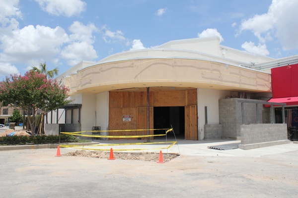 Alabama Theater Construction, Back Exterior, June 2012