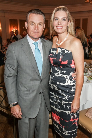 Eric and Shelby Nielsen at the Hospice Spirit Award dinner October 2014