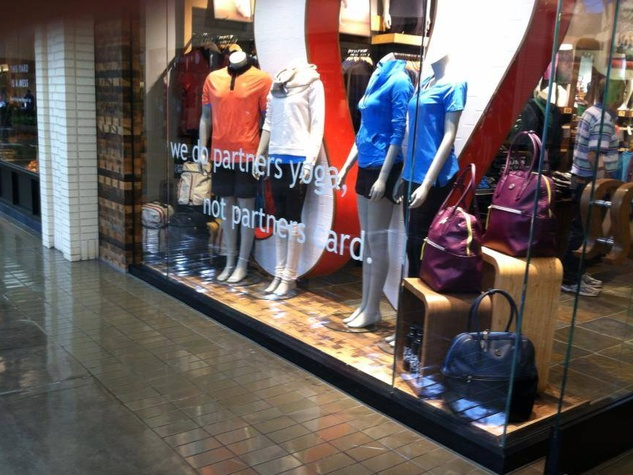 Lululemon at NorthPark Center in Dallas
