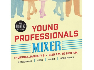 The Printing Museum's Young Professionals Mixer