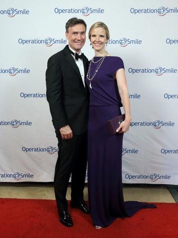 Operation Smile Gala 2015 Steve and Kristen McDaniel