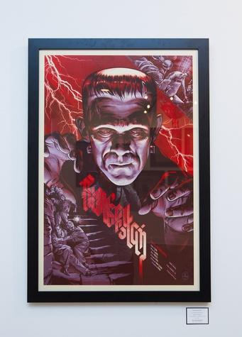 Frankenstein by Martin Ansin