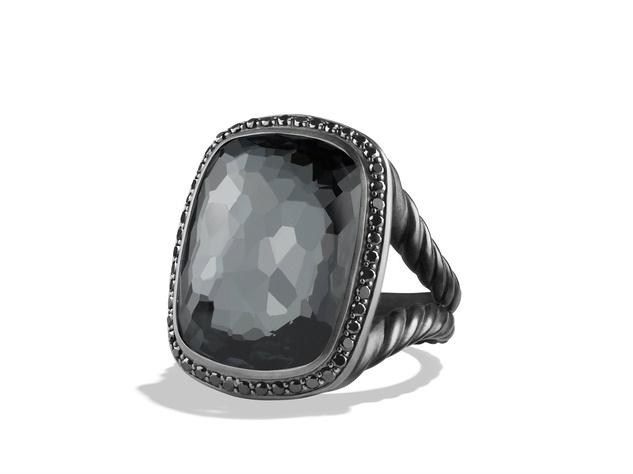 David Yurman Midnight Ice collection ring