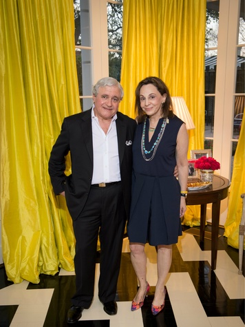 Charles and Joanne Teichman, Ylang23 event ft Irene Neuwirth