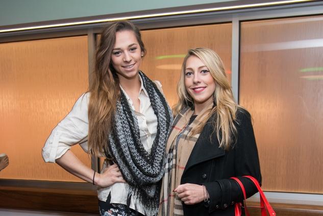News, Alley Theatre Christmas Tree party, Nov. 2015 Joradn Lambert, Rachel Lambert