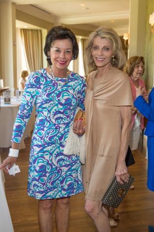 Houston, I Am Waters Luncheon_May 2015, Kathy Goossen, Alice Burguieres