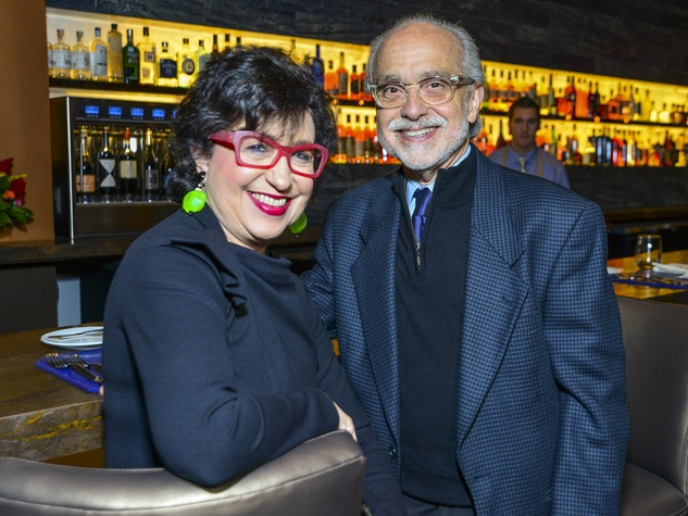 10 Roz and Alan Pactor at Vallone's opening party November 2013