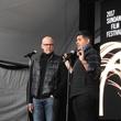 John Heilemann and Showtime executive Vinnie Malhotra