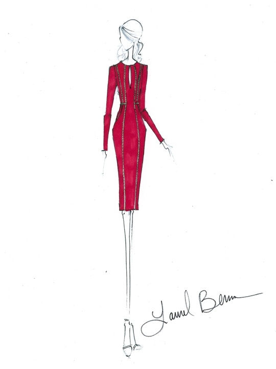 Clifford New York Fashion Week Fall 2015 February 2015 Laurel Berman, designer of Black Halo