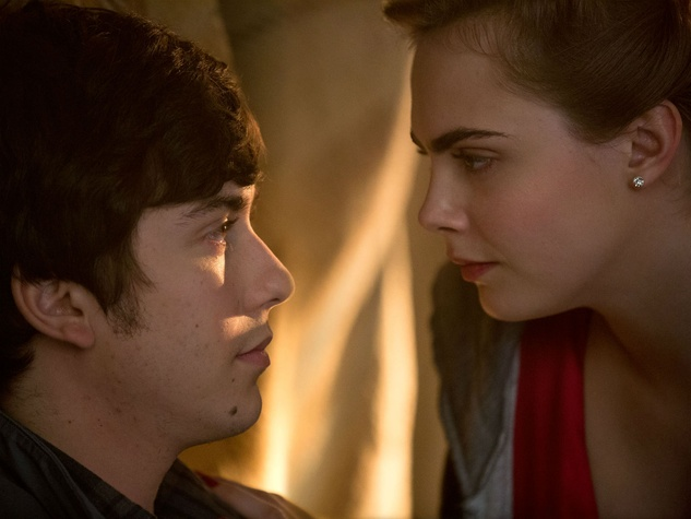 Nat Wolff and Cara Delevingne in Paper Towns