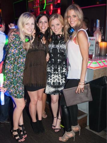 26.Kristen Johnson, Laura Reeder, Jane Rozelle, Lauren Mason, YFWC Silent Disco Party
