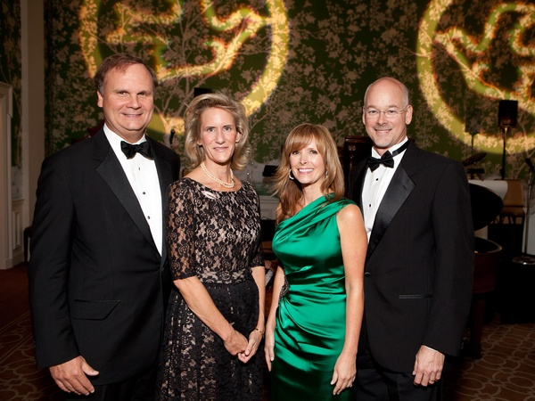 Blue Bird Circle gala, October 2012, Nelson Murray, Meg Murray, Karen Litel, Trey Litel
