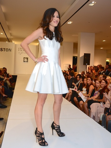 20 Stephanie Fleck at Fresh Faces of Fashion event at Tootsies September 2014