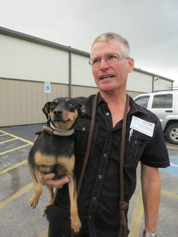BARC Rescued Pets Movement November 2013 RPM Volunteer Foster and transport dog Dana Blankenship