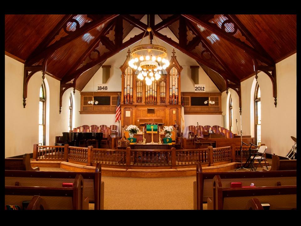 04, AIA Houston, Sacred Spaces, audio photo essay, November 2012, Reedy Chapel African Methodist Episcopal Church, Galveston