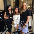 Fifi Phi, Issa Chou and Bethany Buchanan at Tootsies party for Tamara Mellon