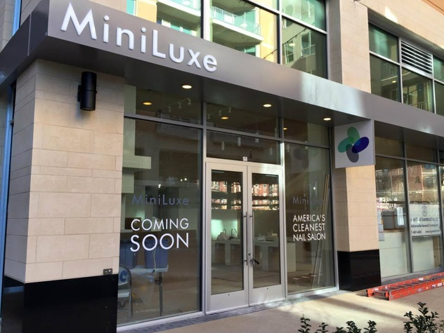 MiniLuxe, nails, waxing, west village
