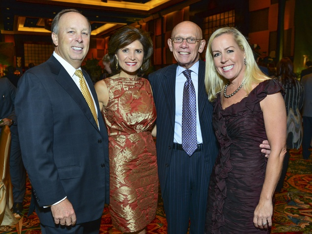 18 Dan and Lori Wolterman, from left, Jim Postl and Rosemary Schatzman at the March of Dimes Signature Chefs event October 2013