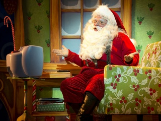 The Long Center for the Performing Arts presents Santa on the Terrace