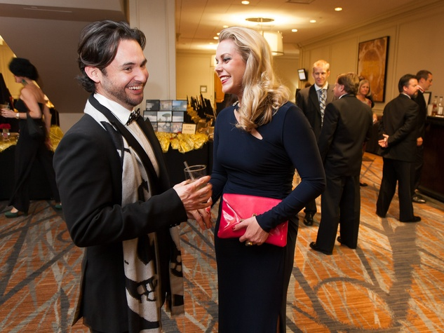 36. Luis Perez and Heather McLeskey at the Stehlin Foundation Gala October 2013