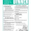 Lillo and Ella restaurant Kevin Naderi May 2014 dinner menu