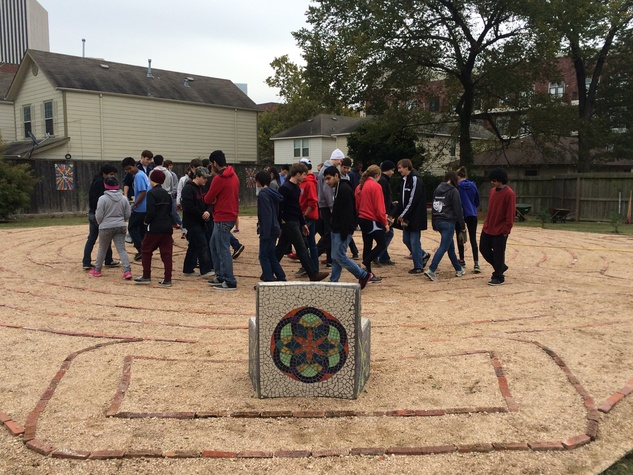 5 Freedmen's Town Labyrinth January 2015