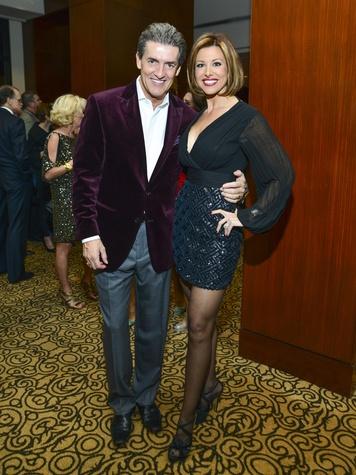 5 Nick Florescu and Dominique Florescu at Una Notte in Italia November 2013