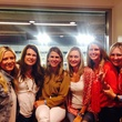 News, Shelby, UH stadium suite parties, Monica Bickers, Caroline Batten, Laurie Dykoski, Chandra Bonine, Catie Ross, Meredith Chastang Sept. 2014