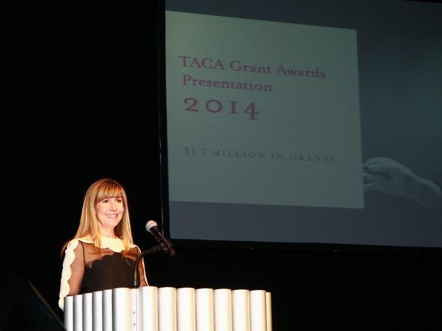 Nancy Carlson, taca grant presentation