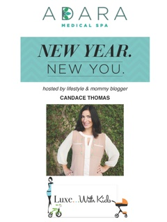 """New Year, New Mommy"" hosted by Candace Thomas of Luxe with Kids"