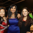 154 Angela Guo, from left, Rohini Sigireddi and Jacinta Leyden at the Baker Institute 20th Anniversary Gala November 2013