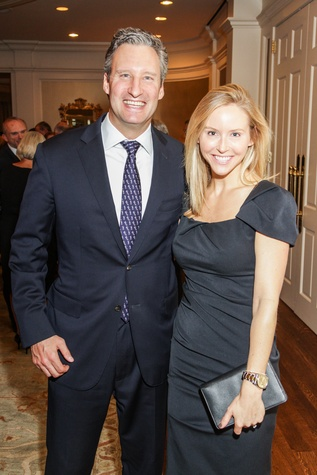 Ray and Melissa Strong at the Hospice Spirit Award dinner October 2014