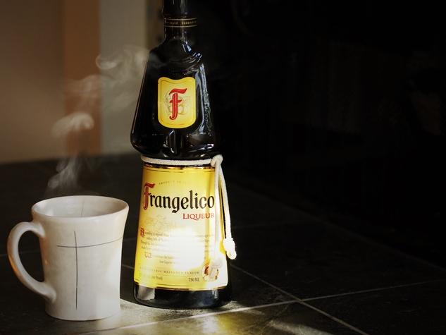 Frangelico coffee