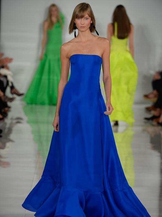 Fashion Week spring summer 2014 Ralph Lauren Collection Spring 2014 Look 38