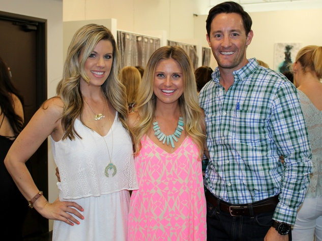 Kinsey Chavez, Catherine Daves and Brand Daves, chantilly shopping event