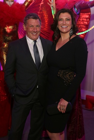 Neal Hamil and Rosemarie Johnson at the March of Dimes Signature Chefs event October 2014