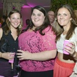 Caroline Rohmn, Lia Vallone, Abbey Marks at Party in Pink at Hotel ZaZa July 2013