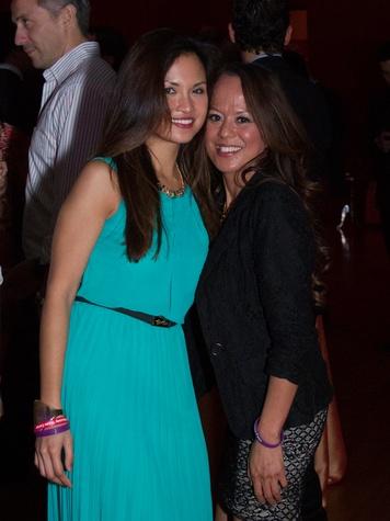10 0236  Erika Serrano, left, and Rona Ward at the Asia Society Spotlight Asia party April 2014