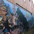 Portland travel, Alberta, mural