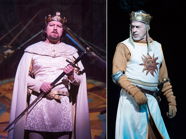 King Arthur Camelot and King Arthur Spamalot