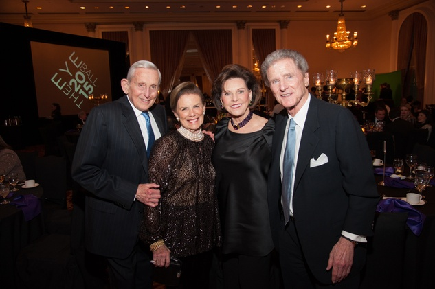 100 Conrad and Dede Weil, from left, and Sue and Jerry Deutser at the Eye Ball February 2015