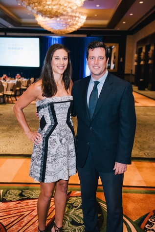 Houston, Boys & Girls Clubs' Great Futures Dinner, September 2015, Carli Lloyd, Chris Canetti