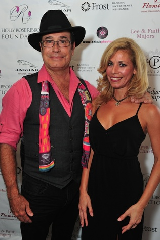 Michael Demarse and Suzanne Tango at the Holly Rose Ribbon Foundation Day dinner September 2014