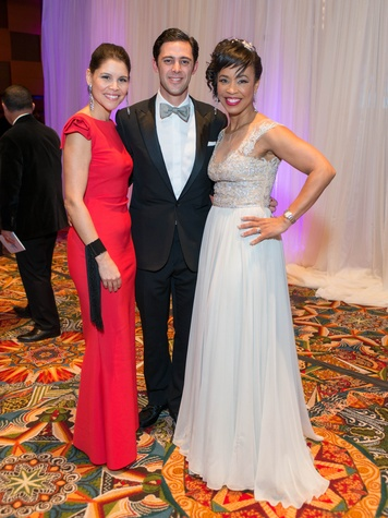 Winter Ball 2016 Estela & David Cockrell, Gina Gaston