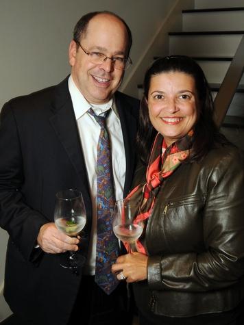 3 Kevin and Sabrina Lewis at the Art Circle launch October 2013