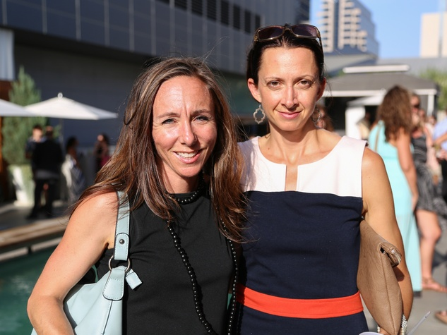 CultureMap Social The W Hotel Wet Deck Suzanne McGinnis Carmen Sutherland Fine and Folded